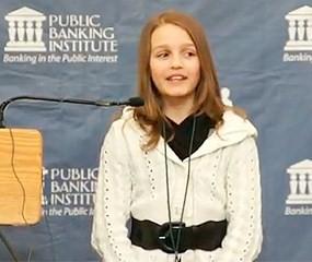 Fenómeno: La niña de 12 años que habla de economía
