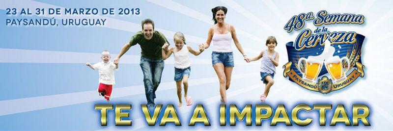 48 Semana de la Cerveza de Paysandu - Viajar a Uruguay Turismo Paysandu