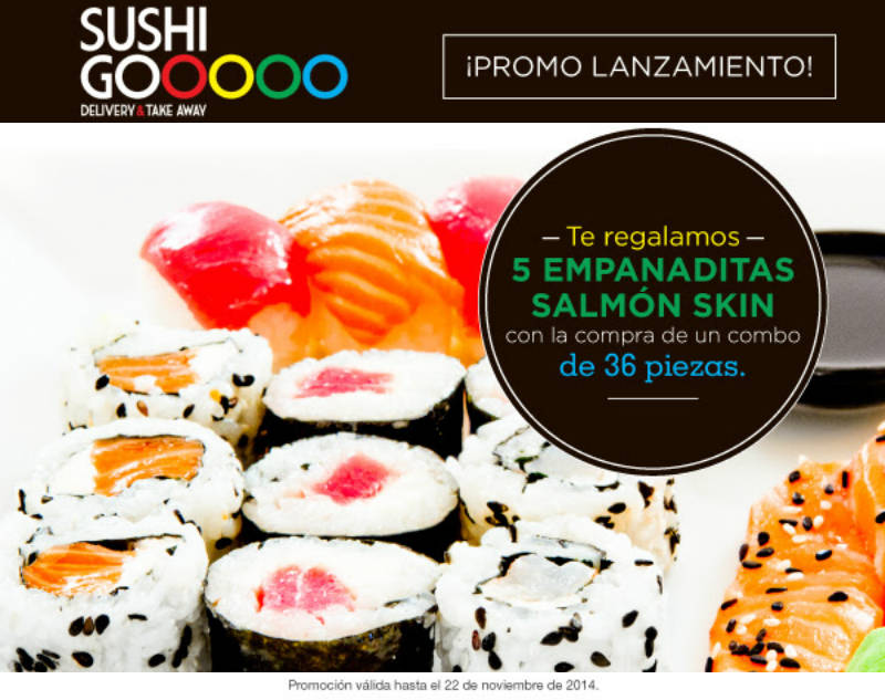 Abrio Sushi Go en Paysandu Promo Lanzamiento