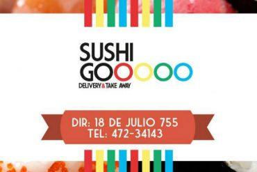 Abrio un nuevo local de SushiGo en Paysandu