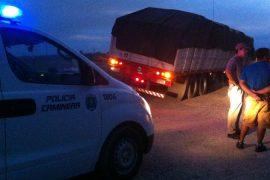Camionero paraguayo evitó un accidente fatal en Ruta 3