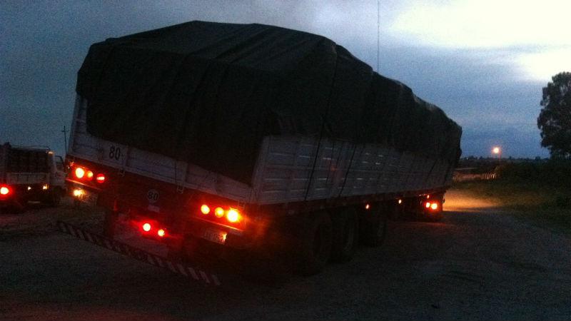 Camionero paraguayo evito un accidente fatal en Ruta 3 en Paysandu