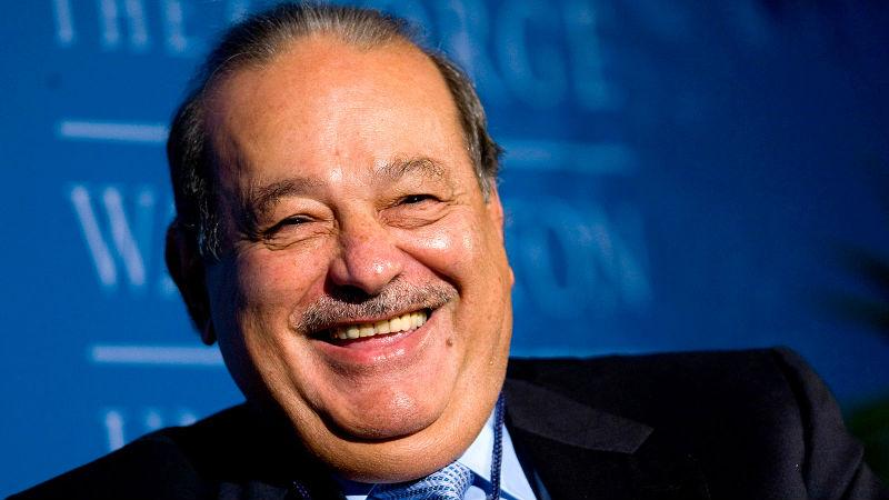 Conoce los 5 más poderosos del mundo Carlos Slim