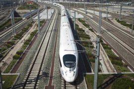 El tren bala llego a Uruguay