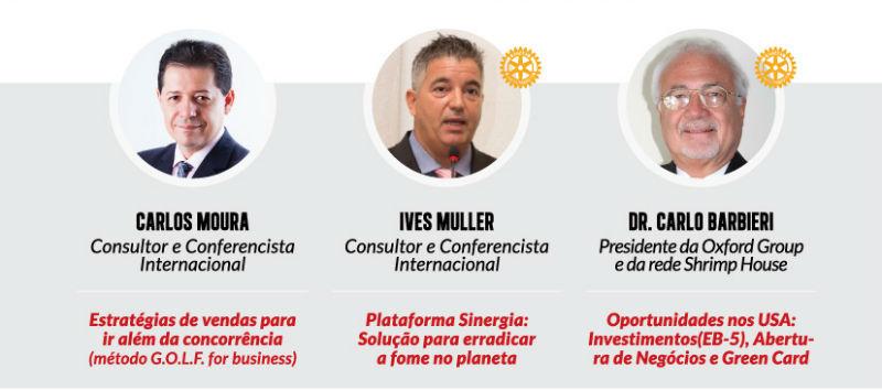 Encuentro de rotarios y negocios en Campinas Conferencias