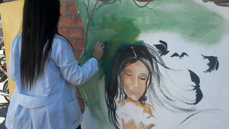 Intervencion Urbana en Paysandu Liceo 1