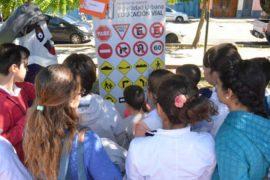 Jornada de educacion vial en Paysandu