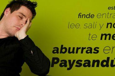 Que hacer en Paysandu este fin de semana del 7 8 9 de noviembre de 2014