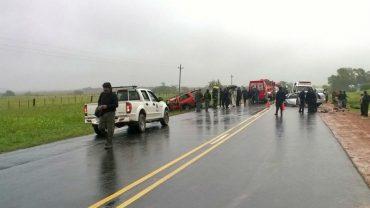 choque fatal en ruta 3 frente al Parque Civelli