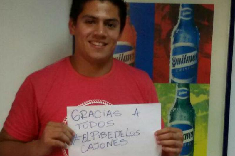 De romper botellas de cerveza Quilmes a la Copa America de Chile